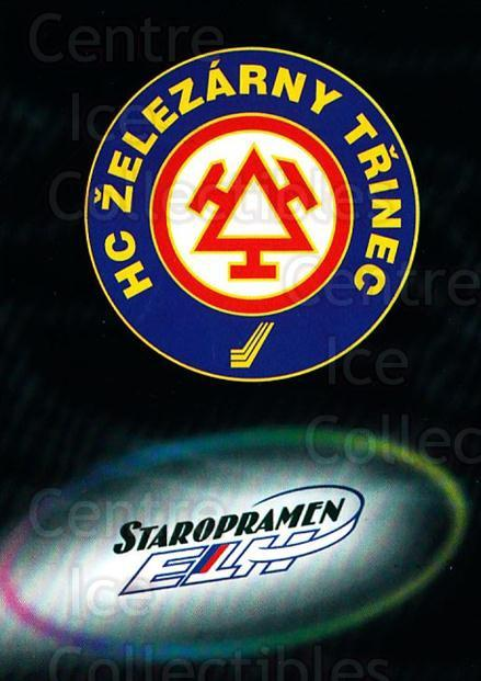 1998-99 Czech OFS Team Cards #14 HC Zelezarny Trinec<br/>1 In Stock - $3.00 each - <a href=https://centericecollectibles.foxycart.com/cart?name=1998-99%20Czech%20OFS%20Team%20Cards%20%2314%20HC%20Zelezarny%20Tr...&quantity_max=1&price=$3.00&code=724850 class=foxycart> Buy it now! </a>