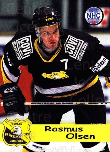 1999-00 Danish Hockey League #36 Rasmus Olsen<br/>1 In Stock - $3.00 each - <a href=https://centericecollectibles.foxycart.com/cart?name=1999-00%20Danish%20Hockey%20League%20%2336%20Rasmus%20Olsen...&quantity_max=1&price=$3.00&code=724908 class=foxycart> Buy it now! </a>