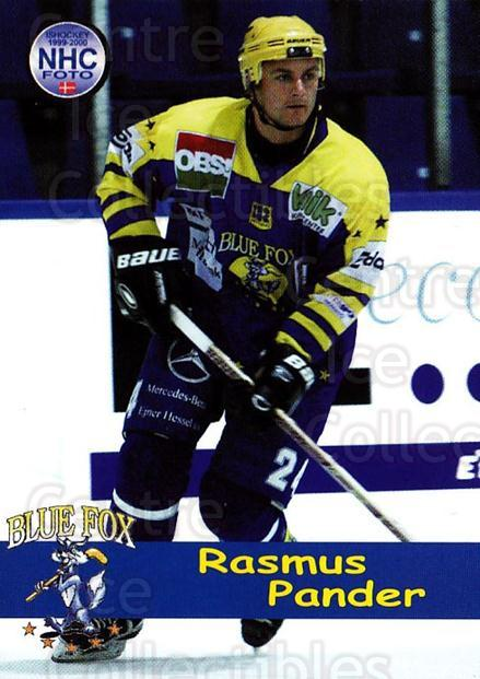 1999-00 Danish Hockey League #62 Rasmus Pander<br/>1 In Stock - $3.00 each - <a href=https://centericecollectibles.foxycart.com/cart?name=1999-00%20Danish%20Hockey%20League%20%2362%20Rasmus%20Pander...&quantity_max=1&price=$3.00&code=724934 class=foxycart> Buy it now! </a>