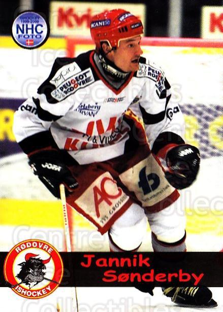 1999-00 Danish Hockey League #139 Jannik Sonderby<br/>1 In Stock - $3.00 each - <a href=https://centericecollectibles.foxycart.com/cart?name=1999-00%20Danish%20Hockey%20League%20%23139%20Jannik%20Sonderby...&quantity_max=1&price=$3.00&code=725011 class=foxycart> Buy it now! </a>