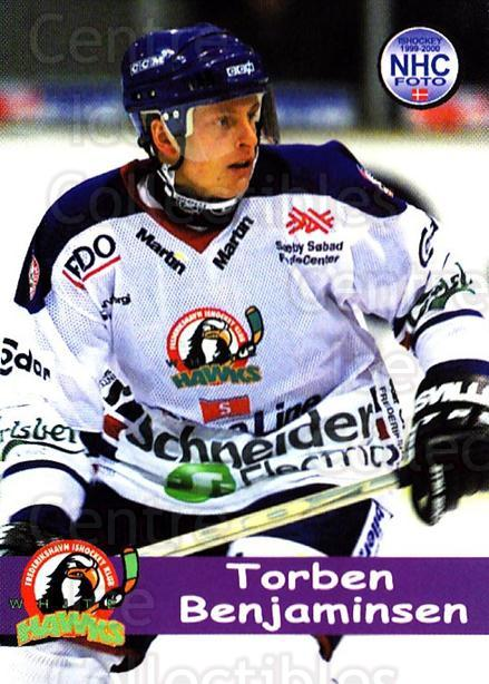 1999-00 Danish Hockey League #171 Torbin Benjaminsen<br/>1 In Stock - $3.00 each - <a href=https://centericecollectibles.foxycart.com/cart?name=1999-00%20Danish%20Hockey%20League%20%23171%20Torbin%20Benjamin...&quantity_max=1&price=$3.00&code=725043 class=foxycart> Buy it now! </a>