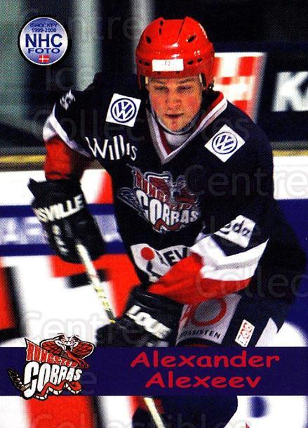 1999-00 Danish Hockey League #213 Alexander Alexeev<br/>1 In Stock - $3.00 each - <a href=https://centericecollectibles.foxycart.com/cart?name=1999-00%20Danish%20Hockey%20League%20%23213%20Alexander%20Alexe...&quantity_max=1&price=$3.00&code=725085 class=foxycart> Buy it now! </a>