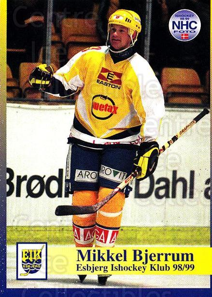 1998-99 Danish Hockey League #5 Mikkel Bjerrum<br/>1 In Stock - $3.00 each - <a href=https://centericecollectibles.foxycart.com/cart?name=1998-99%20Danish%20Hockey%20League%20%235%20Mikkel%20Bjerrum...&quantity_max=1&price=$3.00&code=725102 class=foxycart> Buy it now! </a>