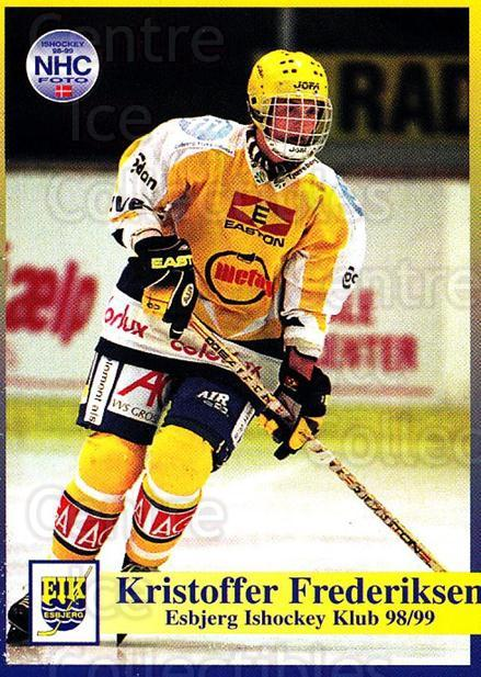 1998-99 Danish Hockey League #6 Keld Frederiksen<br/>1 In Stock - $3.00 each - <a href=https://centericecollectibles.foxycart.com/cart?name=1998-99%20Danish%20Hockey%20League%20%236%20Keld%20Frederikse...&quantity_max=1&price=$3.00&code=725103 class=foxycart> Buy it now! </a>