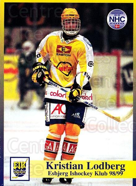 1998-99 Danish Hockey League #7 Kristian Lodberg<br/>1 In Stock - $3.00 each - <a href=https://centericecollectibles.foxycart.com/cart?name=1998-99%20Danish%20Hockey%20League%20%237%20Kristian%20Lodber...&quantity_max=1&price=$3.00&code=725104 class=foxycart> Buy it now! </a>