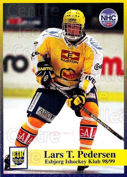 1998-99 Danish Hockey League #9 Jesper Pedersen<br/>1 In Stock - $3.00 each - <a href=https://centericecollectibles.foxycart.com/cart?name=1998-99%20Danish%20Hockey%20League%20%239%20Jesper%20Pedersen...&quantity_max=1&price=$3.00&code=725106 class=foxycart> Buy it now! </a>