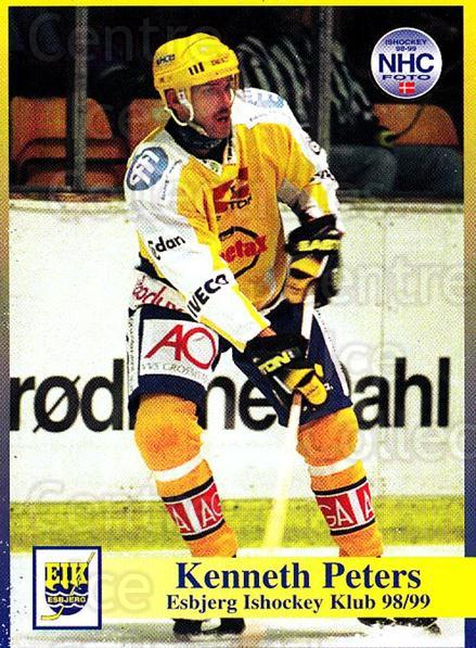 1998-99 Danish Hockey League #14 Ken Peters<br/>1 In Stock - $3.00 each - <a href=https://centericecollectibles.foxycart.com/cart?name=1998-99%20Danish%20Hockey%20League%20%2314%20Ken%20Peters...&quantity_max=1&price=$3.00&code=725111 class=foxycart> Buy it now! </a>