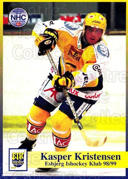 1998-99 Danish Hockey League #15 Kasper Kristensen<br/>1 In Stock - $3.00 each - <a href=https://centericecollectibles.foxycart.com/cart?name=1998-99%20Danish%20Hockey%20League%20%2315%20Kasper%20Kristens...&quantity_max=1&price=$3.00&code=725112 class=foxycart> Buy it now! </a>