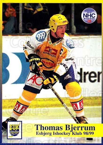 1998-99 Danish Hockey League #17 Thomas Bjerrum<br/>1 In Stock - $3.00 each - <a href=https://centericecollectibles.foxycart.com/cart?name=1998-99%20Danish%20Hockey%20League%20%2317%20Thomas%20Bjerrum...&quantity_max=1&price=$3.00&code=725114 class=foxycart> Buy it now! </a>