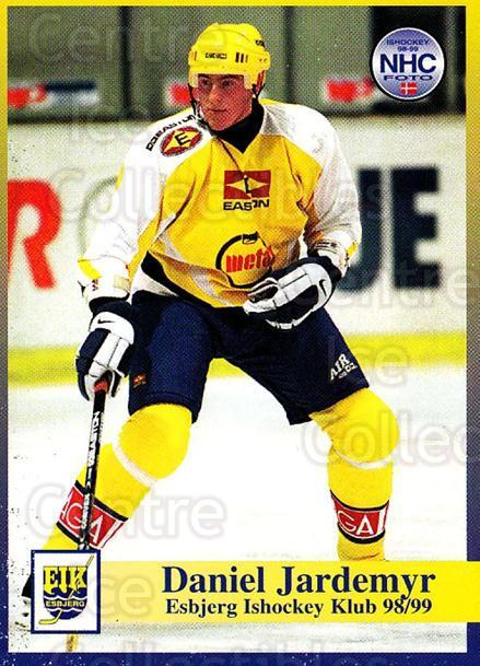 1998-99 Danish Hockey League #24 Daniel Jardemyr<br/>1 In Stock - $3.00 each - <a href=https://centericecollectibles.foxycart.com/cart?name=1998-99%20Danish%20Hockey%20League%20%2324%20Daniel%20Jardemyr...&quantity_max=1&price=$3.00&code=725121 class=foxycart> Buy it now! </a>