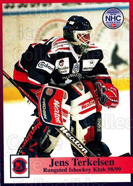 1998-99 Danish Hockey League #27 Jens Terkelsen<br/>1 In Stock - $3.00 each - <a href=https://centericecollectibles.foxycart.com/cart?name=1998-99%20Danish%20Hockey%20League%20%2327%20Jens%20Terkelsen...&quantity_max=1&price=$3.00&code=725124 class=foxycart> Buy it now! </a>