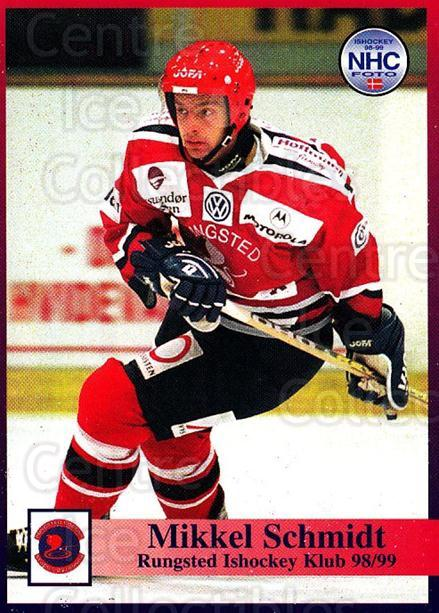 1998-99 Danish Hockey League #42 Mikkel Schmidt<br/>1 In Stock - $3.00 each - <a href=https://centericecollectibles.foxycart.com/cart?name=1998-99%20Danish%20Hockey%20League%20%2342%20Mikkel%20Schmidt...&quantity_max=1&price=$3.00&code=725139 class=foxycart> Buy it now! </a>