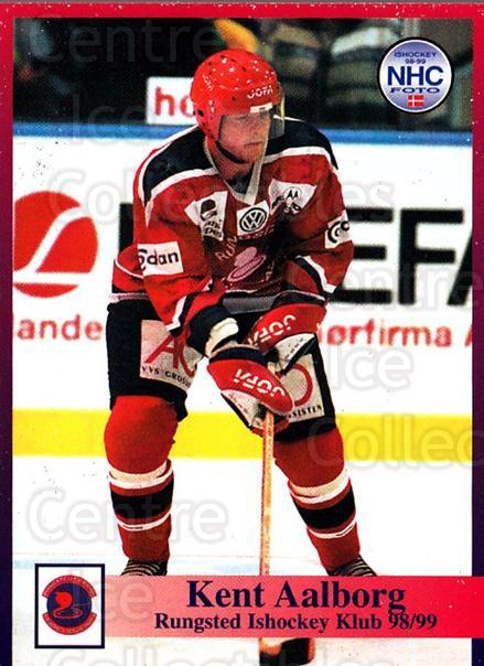 1998-99 Danish Hockey League #43 Kent Aalborg<br/>1 In Stock - $3.00 each - <a href=https://centericecollectibles.foxycart.com/cart?name=1998-99%20Danish%20Hockey%20League%20%2343%20Kent%20Aalborg...&quantity_max=1&price=$3.00&code=725140 class=foxycart> Buy it now! </a>