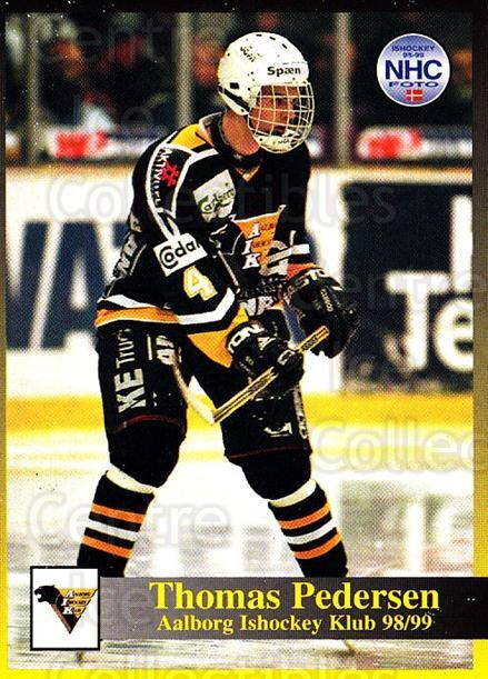 1998-99 Danish Hockey League #50 Thomas Pedersen<br/>1 In Stock - $3.00 each - <a href=https://centericecollectibles.foxycart.com/cart?name=1998-99%20Danish%20Hockey%20League%20%2350%20Thomas%20Pedersen...&quantity_max=1&price=$3.00&code=725147 class=foxycart> Buy it now! </a>