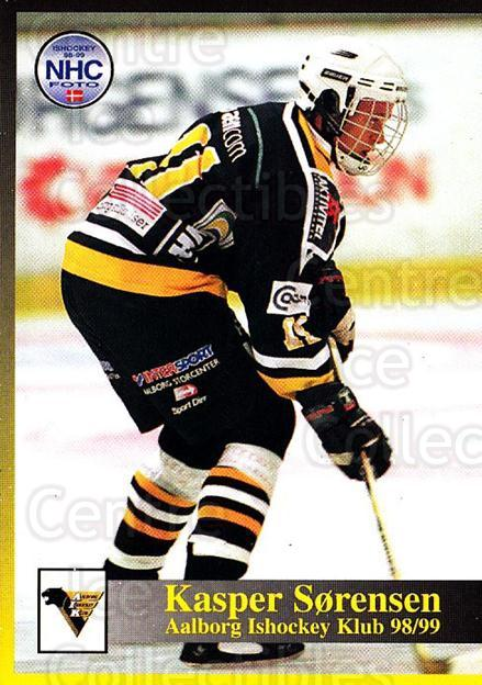 1998-99 Danish Hockey League #55 Kasper Sorensen<br/>1 In Stock - $3.00 each - <a href=https://centericecollectibles.foxycart.com/cart?name=1998-99%20Danish%20Hockey%20League%20%2355%20Kasper%20Sorensen...&quantity_max=1&price=$3.00&code=725152 class=foxycart> Buy it now! </a>