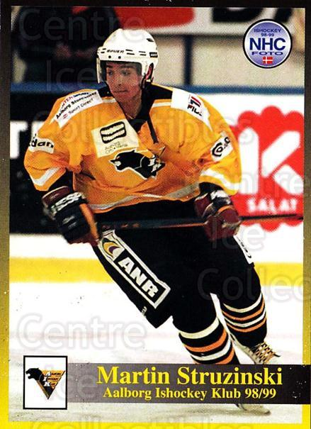 1998-99 Danish Hockey League #63 Michael Steffensen<br/>1 In Stock - $3.00 each - <a href=https://centericecollectibles.foxycart.com/cart?name=1998-99%20Danish%20Hockey%20League%20%2363%20Michael%20Steffen...&quantity_max=1&price=$3.00&code=725160 class=foxycart> Buy it now! </a>