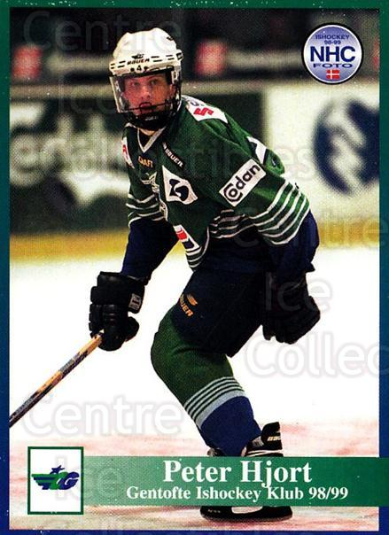 1998-99 Danish Hockey League #74 Peter Hjort<br/>1 In Stock - $3.00 each - <a href=https://centericecollectibles.foxycart.com/cart?name=1998-99%20Danish%20Hockey%20League%20%2374%20Peter%20Hjort...&quantity_max=1&price=$3.00&code=725171 class=foxycart> Buy it now! </a>
