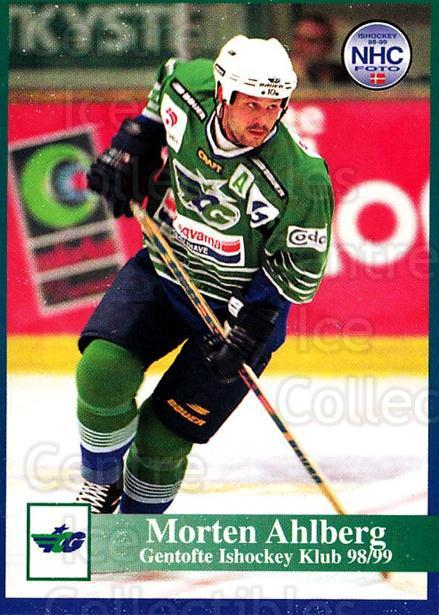 1998-99 Danish Hockey League #75 Morten Ahlberg<br/>1 In Stock - $3.00 each - <a href=https://centericecollectibles.foxycart.com/cart?name=1998-99%20Danish%20Hockey%20League%20%2375%20Morten%20Ahlberg...&quantity_max=1&price=$3.00&code=725172 class=foxycart> Buy it now! </a>
