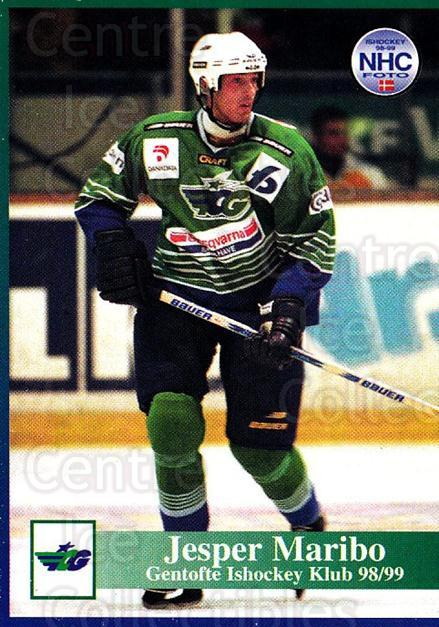 1998-99 Danish Hockey League #86 Jens Maribo<br/>1 In Stock - $3.00 each - <a href=https://centericecollectibles.foxycart.com/cart?name=1998-99%20Danish%20Hockey%20League%20%2386%20Jens%20Maribo...&quantity_max=1&price=$3.00&code=725183 class=foxycart> Buy it now! </a>