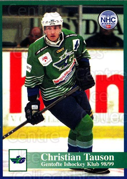 1998-99 Danish Hockey League #87 Claus Tauson<br/>1 In Stock - $3.00 each - <a href=https://centericecollectibles.foxycart.com/cart?name=1998-99%20Danish%20Hockey%20League%20%2387%20Claus%20Tauson...&quantity_max=1&price=$3.00&code=725184 class=foxycart> Buy it now! </a>