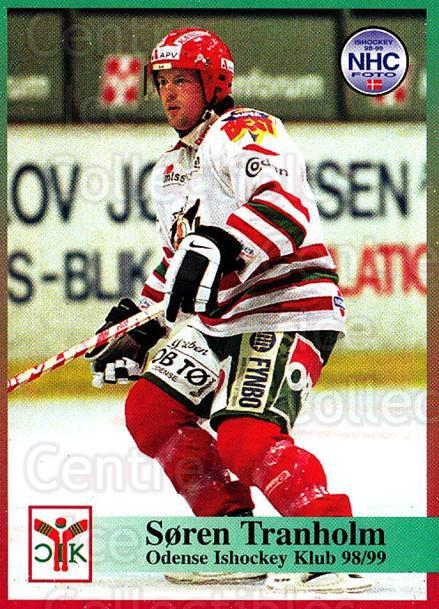 1998-99 Danish Hockey League #92 Soren Tranholm<br/>1 In Stock - $3.00 each - <a href=https://centericecollectibles.foxycart.com/cart?name=1998-99%20Danish%20Hockey%20League%20%2392%20Soren%20Tranholm...&quantity_max=1&price=$3.00&code=725189 class=foxycart> Buy it now! </a>