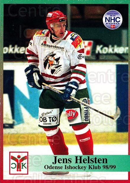 1998-99 Danish Hockey League #95 Jens Hellsten<br/>1 In Stock - $3.00 each - <a href=https://centericecollectibles.foxycart.com/cart?name=1998-99%20Danish%20Hockey%20League%20%2395%20Jens%20Hellsten...&quantity_max=1&price=$3.00&code=725192 class=foxycart> Buy it now! </a>