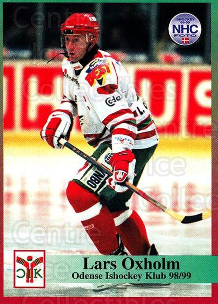 1998-99 Danish Hockey League #96 Lars Oxholm<br/>1 In Stock - $3.00 each - <a href=https://centericecollectibles.foxycart.com/cart?name=1998-99%20Danish%20Hockey%20League%20%2396%20Lars%20Oxholm...&quantity_max=1&price=$3.00&code=725193 class=foxycart> Buy it now! </a>