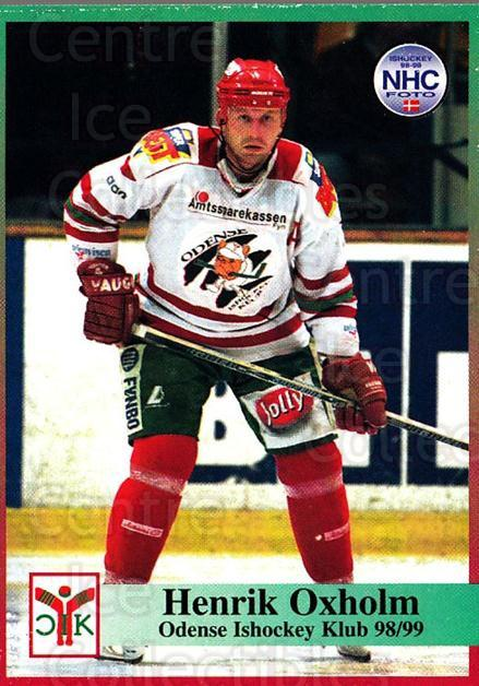 1998-99 Danish Hockey League #99 Henrik Oxholm<br/>1 In Stock - $3.00 each - <a href=https://centericecollectibles.foxycart.com/cart?name=1998-99%20Danish%20Hockey%20League%20%2399%20Henrik%20Oxholm...&quantity_max=1&price=$3.00&code=725196 class=foxycart> Buy it now! </a>