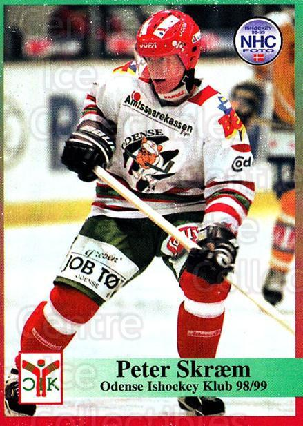 1998-99 Danish Hockey League #105 Peter Skraem<br/>1 In Stock - $3.00 each - <a href=https://centericecollectibles.foxycart.com/cart?name=1998-99%20Danish%20Hockey%20League%20%23105%20Peter%20Skraem...&quantity_max=1&price=$3.00&code=725202 class=foxycart> Buy it now! </a>