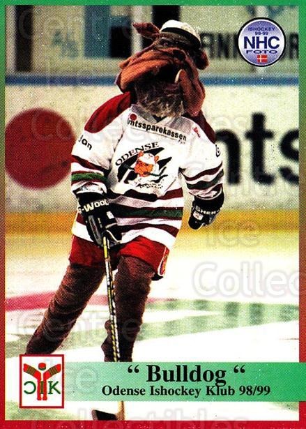 1998-99 Danish Hockey League #112 Mascot<br/>1 In Stock - $3.00 each - <a href=https://centericecollectibles.foxycart.com/cart?name=1998-99%20Danish%20Hockey%20League%20%23112%20Mascot...&quantity_max=1&price=$3.00&code=725209 class=foxycart> Buy it now! </a>