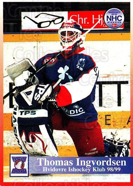 1998-99 Danish Hockey League #114 Thomas Ingvordsen<br/>1 In Stock - $3.00 each - <a href=https://centericecollectibles.foxycart.com/cart?name=1998-99%20Danish%20Hockey%20League%20%23114%20Thomas%20Ingvords...&quantity_max=1&price=$3.00&code=725211 class=foxycart> Buy it now! </a>