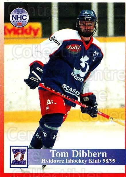 1998-99 Danish Hockey League #119 Tom Dibbern<br/>1 In Stock - $3.00 each - <a href=https://centericecollectibles.foxycart.com/cart?name=1998-99%20Danish%20Hockey%20League%20%23119%20Tom%20Dibbern...&quantity_max=1&price=$3.00&code=725216 class=foxycart> Buy it now! </a>