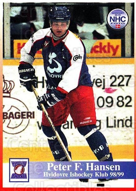 1998-99 Danish Hockey League #125 Peter Hansen<br/>1 In Stock - $3.00 each - <a href=https://centericecollectibles.foxycart.com/cart?name=1998-99%20Danish%20Hockey%20League%20%23125%20Peter%20Hansen...&quantity_max=1&price=$3.00&code=725222 class=foxycart> Buy it now! </a>