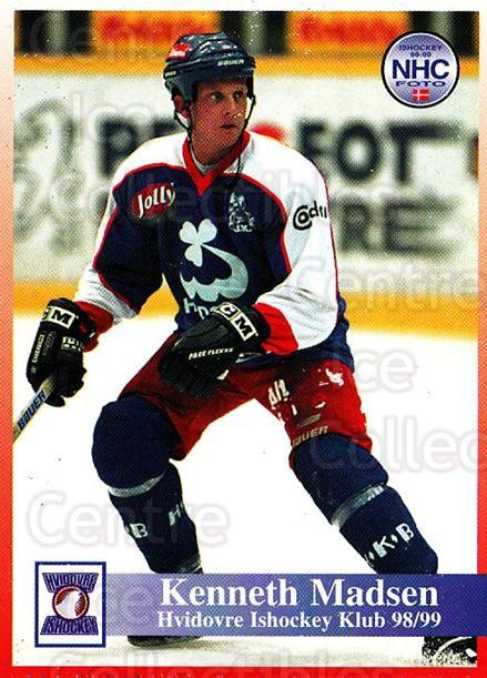 1998-99 Danish Hockey League #129 Kenneth Madsen<br/>1 In Stock - $3.00 each - <a href=https://centericecollectibles.foxycart.com/cart?name=1998-99%20Danish%20Hockey%20League%20%23129%20Kenneth%20Madsen...&quantity_max=1&price=$3.00&code=725226 class=foxycart> Buy it now! </a>