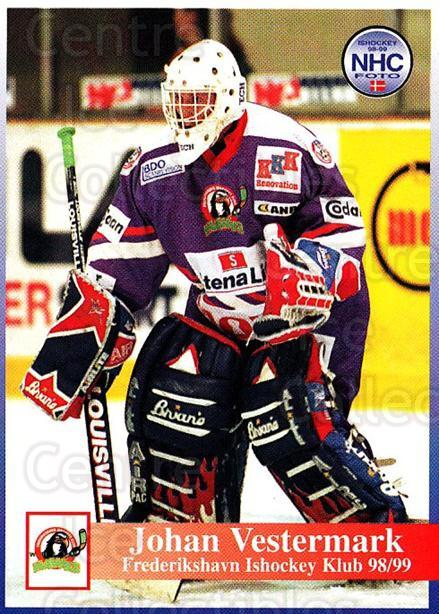 1998-99 Danish Hockey League #135 Johan Westermark<br/>1 In Stock - $3.00 each - <a href=https://centericecollectibles.foxycart.com/cart?name=1998-99%20Danish%20Hockey%20League%20%23135%20Johan%20Westermar...&quantity_max=1&price=$3.00&code=725232 class=foxycart> Buy it now! </a>