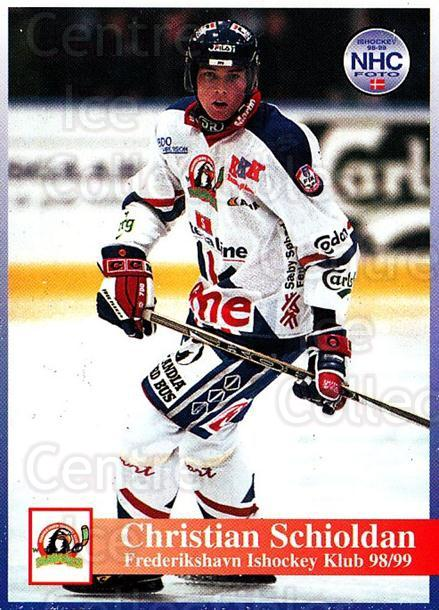 1998-99 Danish Hockey League #138 Christian Schioldan<br/>1 In Stock - $3.00 each - <a href=https://centericecollectibles.foxycart.com/cart?name=1998-99%20Danish%20Hockey%20League%20%23138%20Christian%20Schio...&quantity_max=1&price=$3.00&code=725235 class=foxycart> Buy it now! </a>