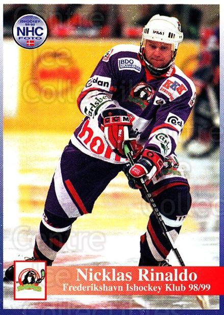1998-99 Danish Hockey League #145 Niklas Rinaldo<br/>1 In Stock - $3.00 each - <a href=https://centericecollectibles.foxycart.com/cart?name=1998-99%20Danish%20Hockey%20League%20%23145%20Niklas%20Rinaldo...&quantity_max=1&price=$3.00&code=725242 class=foxycart> Buy it now! </a>