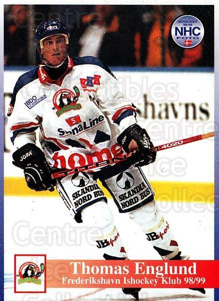 1998-99 Danish Hockey League #147 Thomas Englund<br/>1 In Stock - $3.00 each - <a href=https://centericecollectibles.foxycart.com/cart?name=1998-99%20Danish%20Hockey%20League%20%23147%20Thomas%20Englund...&quantity_max=1&price=$3.00&code=725244 class=foxycart> Buy it now! </a>