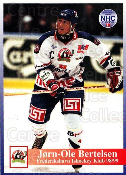 1998-99 Danish Hockey League #148 Jorn Ole Bertelsen<br/>1 In Stock - $3.00 each - <a href=https://centericecollectibles.foxycart.com/cart?name=1998-99%20Danish%20Hockey%20League%20%23148%20Jorn%20Ole%20Bertel...&quantity_max=1&price=$3.00&code=725245 class=foxycart> Buy it now! </a>