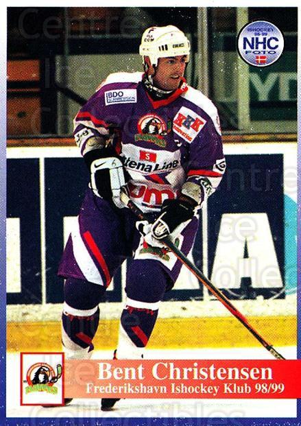 1998-99 Danish Hockey League #150 Bent Christensen<br/>1 In Stock - $3.00 each - <a href=https://centericecollectibles.foxycart.com/cart?name=1998-99%20Danish%20Hockey%20League%20%23150%20Bent%20Christense...&quantity_max=1&price=$3.00&code=725247 class=foxycart> Buy it now! </a>