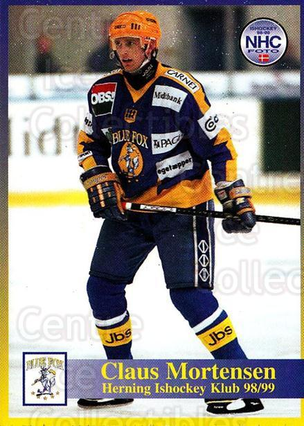1998-99 Danish Hockey League #162 Claus Mortensen<br/>1 In Stock - $3.00 each - <a href=https://centericecollectibles.foxycart.com/cart?name=1998-99%20Danish%20Hockey%20League%20%23162%20Claus%20Mortensen...&quantity_max=1&price=$3.00&code=725259 class=foxycart> Buy it now! </a>