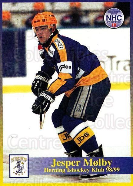 1998-99 Danish Hockey League #164 Jesper Molby<br/>1 In Stock - $3.00 each - <a href=https://centericecollectibles.foxycart.com/cart?name=1998-99%20Danish%20Hockey%20League%20%23164%20Jesper%20Molby...&quantity_max=1&price=$3.00&code=725261 class=foxycart> Buy it now! </a>