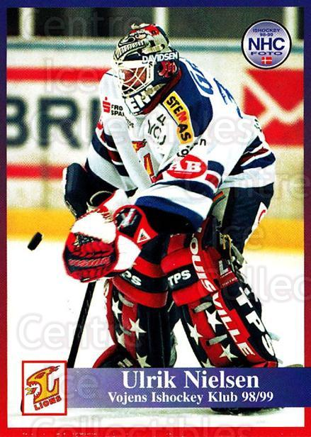 1998-99 Danish Hockey League #184 Ulrick Nielsen<br/>1 In Stock - $3.00 each - <a href=https://centericecollectibles.foxycart.com/cart?name=1998-99%20Danish%20Hockey%20League%20%23184%20Ulrick%20Nielsen...&quantity_max=1&price=$3.00&code=725281 class=foxycart> Buy it now! </a>