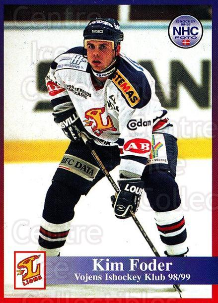 1998-99 Danish Hockey League #187 Kim Foder<br/>1 In Stock - $3.00 each - <a href=https://centericecollectibles.foxycart.com/cart?name=1998-99%20Danish%20Hockey%20League%20%23187%20Kim%20Foder...&quantity_max=1&price=$3.00&code=725284 class=foxycart> Buy it now! </a>