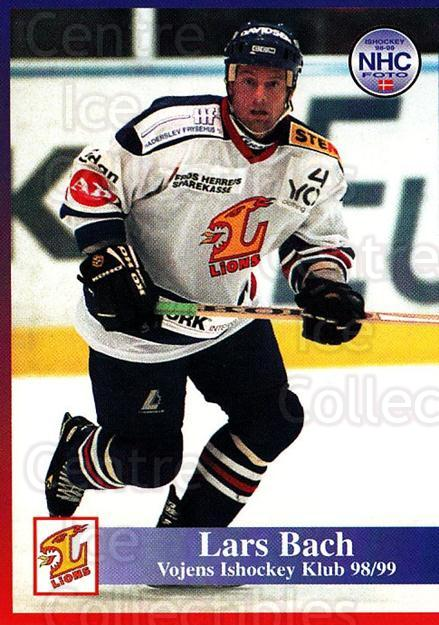 1998-99 Danish Hockey League #193 Lars Bach<br/>1 In Stock - $3.00 each - <a href=https://centericecollectibles.foxycart.com/cart?name=1998-99%20Danish%20Hockey%20League%20%23193%20Lars%20Bach...&quantity_max=1&price=$3.00&code=725290 class=foxycart> Buy it now! </a>