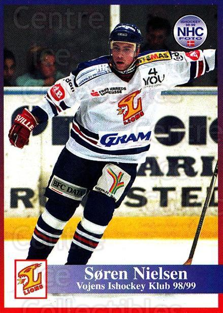 1998-99 Danish Hockey League #197 Soren Nielsen<br/>1 In Stock - $3.00 each - <a href=https://centericecollectibles.foxycart.com/cart?name=1998-99%20Danish%20Hockey%20League%20%23197%20Soren%20Nielsen...&quantity_max=1&price=$3.00&code=725294 class=foxycart> Buy it now! </a>