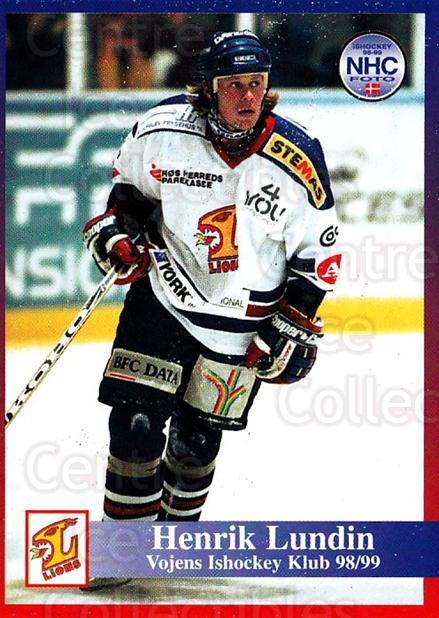 1998-99 Danish Hockey League #202 Henrik Lundin<br/>1 In Stock - $3.00 each - <a href=https://centericecollectibles.foxycart.com/cart?name=1998-99%20Danish%20Hockey%20League%20%23202%20Henrik%20Lundin...&quantity_max=1&price=$3.00&code=725299 class=foxycart> Buy it now! </a>
