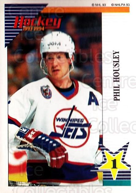1993-94 Panini Stickers #133 Phil Housley<br/>6 In Stock - $1.00 each - <a href=https://centericecollectibles.foxycart.com/cart?name=1993-94%20Panini%20Stickers%20%23133%20Phil%20Housley...&quantity_max=6&price=$1.00&code=7252 class=foxycart> Buy it now! </a>