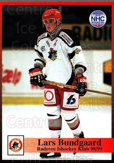 1998-99 Danish Hockey League #208 Lars Bundgaard<br/>1 In Stock - $3.00 each - <a href=https://centericecollectibles.foxycart.com/cart?name=1998-99%20Danish%20Hockey%20League%20%23208%20Lars%20Bundgaard...&quantity_max=1&price=$3.00&code=725305 class=foxycart> Buy it now! </a>