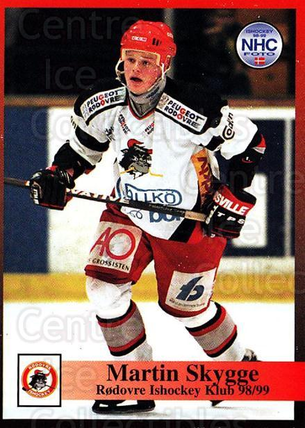 1998-99 Danish Hockey League #218 Martin Skygge<br/>1 In Stock - $3.00 each - <a href=https://centericecollectibles.foxycart.com/cart?name=1998-99%20Danish%20Hockey%20League%20%23218%20Martin%20Skygge...&quantity_max=1&price=$3.00&code=725315 class=foxycart> Buy it now! </a>